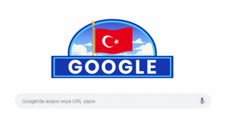Google'dan Cumhuriyet Bayramı'na özel logo