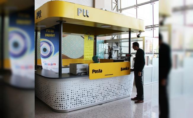 PTT, Numune Hastanesi'nde şube açtı