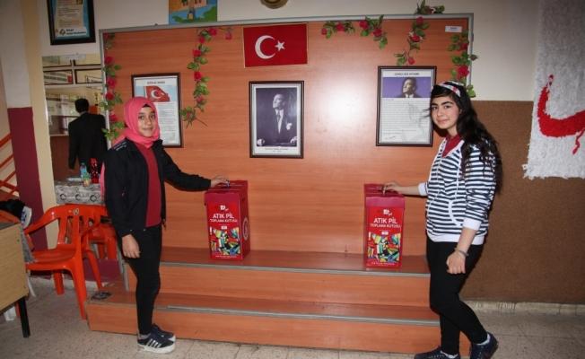 Seydişehir'de atık pil kampanyası