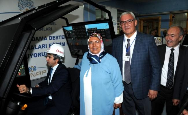 Simulatorlü İş Makineleri Eğitim Merkezi Kuruyoruz Projesi