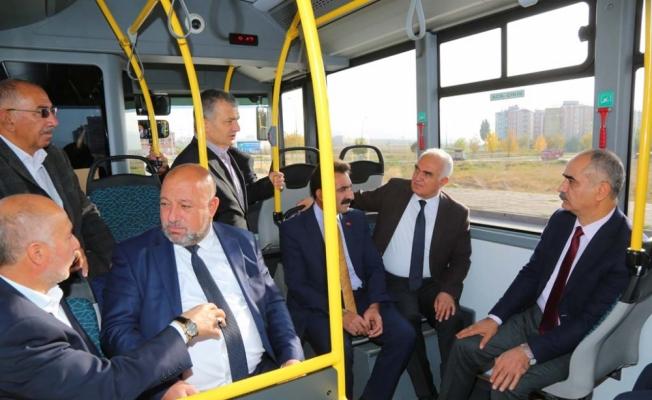 Vefa Konutları'na otobüs seferleri başladı