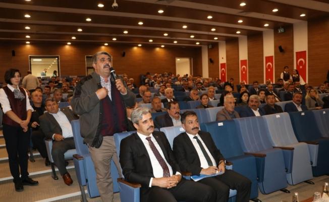 Yozgat'ta tarım ve hayvancılık değerlendirildi