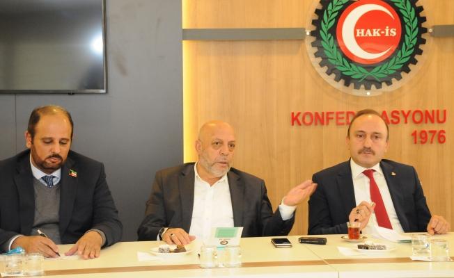 """Arslan, """"Kuveyt'teki Sendikalarla İlişkilerimizi Arttırıyoruz"""""""