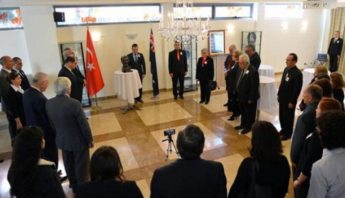 Atatürk dünyada törenlerle anılıyor