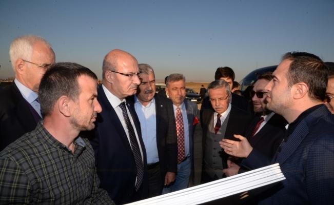 ATO yönetiminden, Pursaklar Belediyesini ziyaret etti