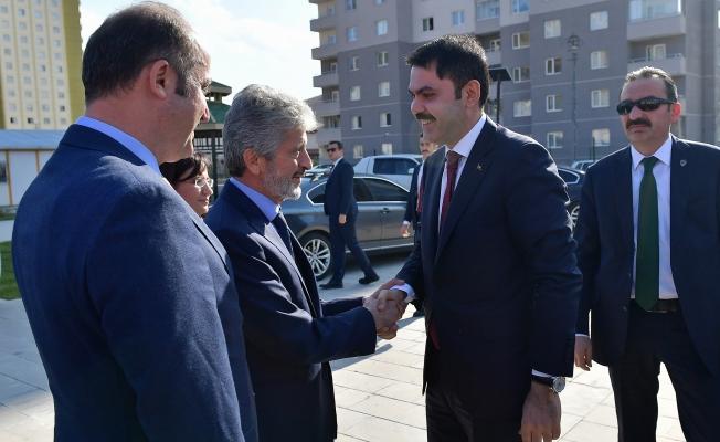 Başkan Tuna ve Bakan Kurum Başkent Projelerini Gezdi!