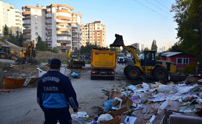 Başkent'te Atık Temizliği