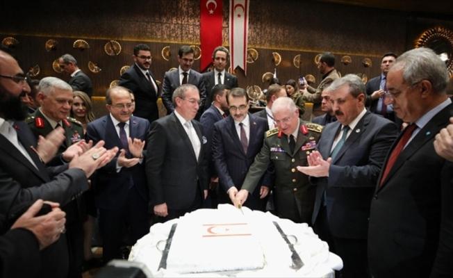 Başkentte KKTC'nin kuruluşunun 35. yıl dönümü kutlandı
