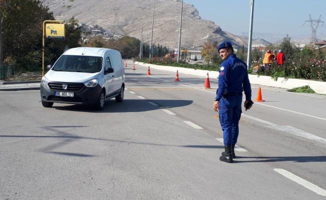 Çayırhan'da trafik denetimleri sürüyor