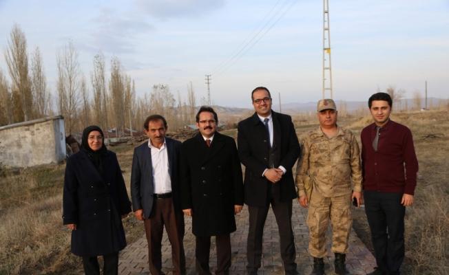 Genel Sekreter Kaya'dan köy ziyaretleri