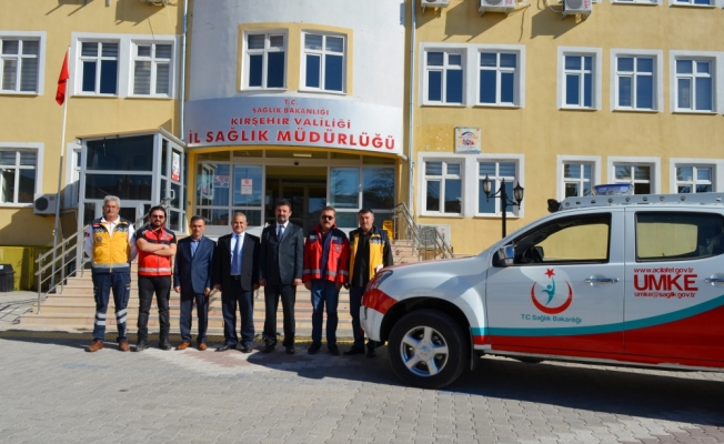 Kırşehir'e yeni UMKE aracı gönderildi