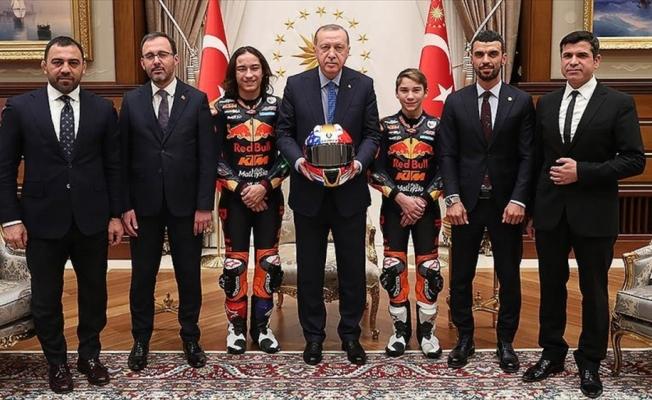 Cumhurbaşkanı Erdoğan, Öncü kardeşleri kabul etti