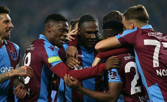 Trabzonspor'dan evinde farklı galibiyet