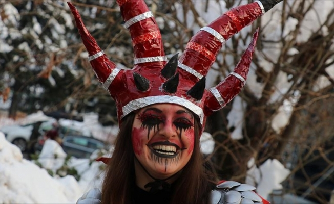 1400 yıllık karnaval renkli görüntülere sahne oldu