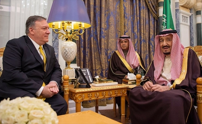 ABD Dışişleri Bakanı Pompeo ile Kral Selman bölgesel gelişmeleri görüştü