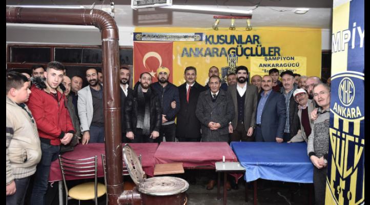 AK Parti Mamak Adayı Murat Köse Gençlerle Buluştu