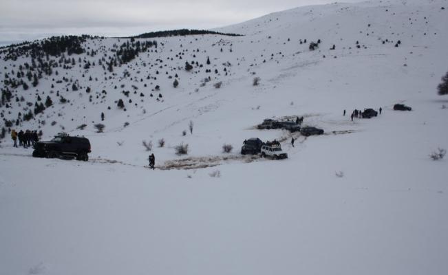 Aladağ'da kış etkinlikleri