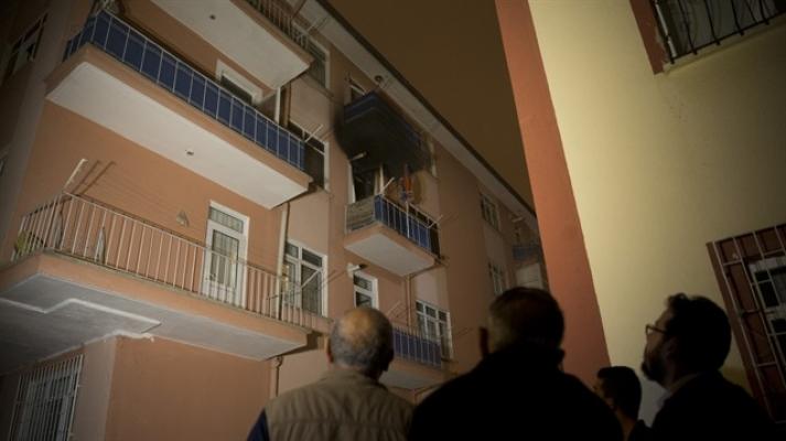Ankara Şizofreni Hastası Kadın Evini Ateşe Verdi İddiası