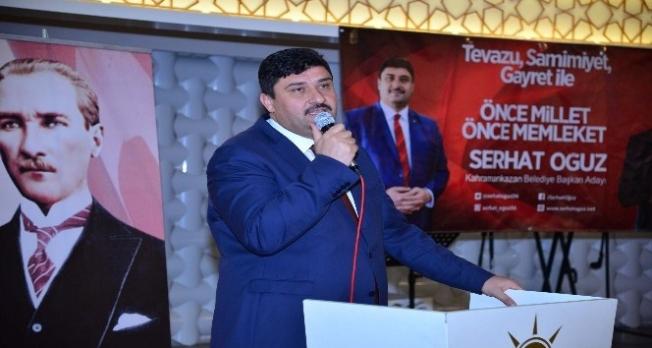 Başkan adayı Oğuz ve Başkan Ertürk vatandaşlarla buluştu