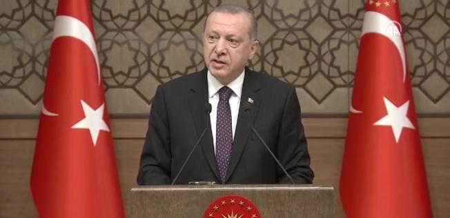 Cumhurbaşkanı Erdoğan: Sanat felç olmuşsa ortak değer üretilmesi zordur