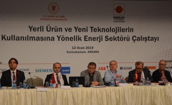 Enerji ve Tabii Kaynaklar Bakanlığı ve EMSAD'tan ortak çalıştay
