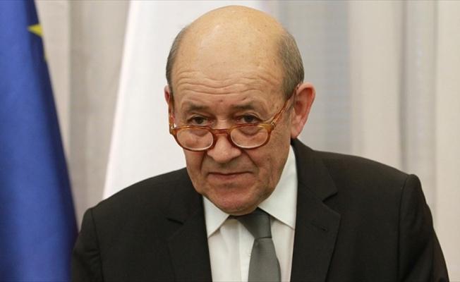 Fransa Dışişleri Bakanı Le Drian: Yüzyılın Anlaşması henüz masaya gelmedi