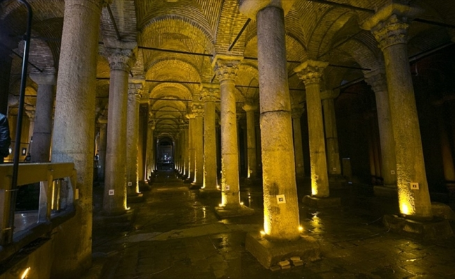 Kültür AŞ müze ve sarnıçlarına yoğun ilgi