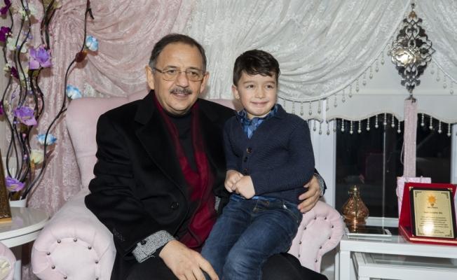 Özhaseki'den 15 Temmuz şehidinin ailesine ziyaret