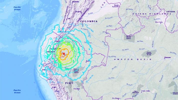 7.5'lik deprem! Amerika sarsıldı...