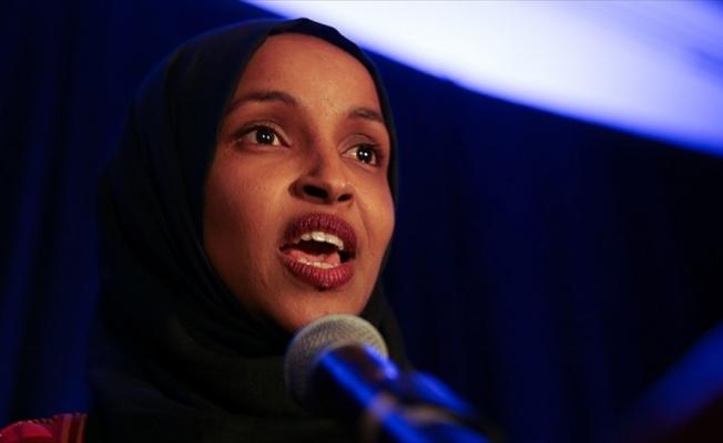 Anti-semitizm tartışmasında İlhan Omar'dan Trump'a yanıt