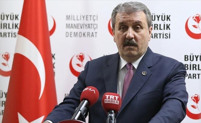 BBP Genel Başkanı Destici: Büyük Birlik Partisi ittifakın ruhuna sadıktır