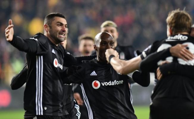Beşiktaş deplasman fobisini yendi