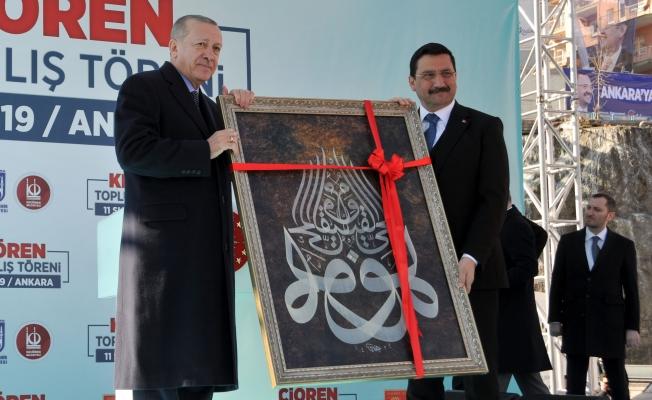 Cumhurbaşkanı Recep Tayyip Erdoğan, Keçiören'in Büyük Yatırımlarını Hizmete Açtı