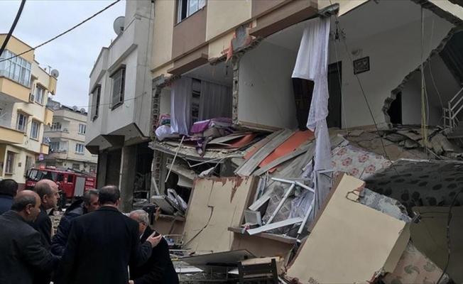 Gaziantep'te doğal gaz patlaması: 5 yaralı