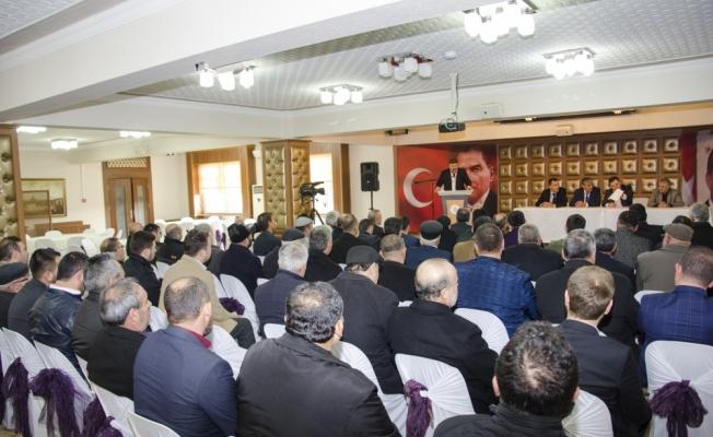 Kahramankazan Ziraat Odası Başkanlığına Öztürk seçildi