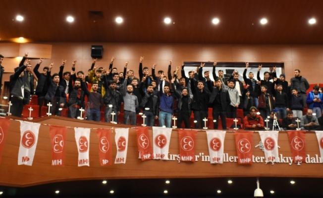 MHP Kırşehir Belediye Başkan Adayı Köksal, projelerini tanıttı