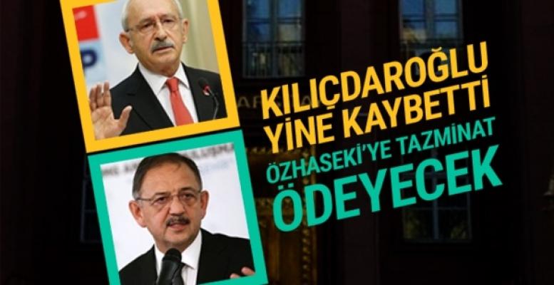 Özhaseki, Kılıçdaroğlu'na açtığı tazminat davasını kazandı