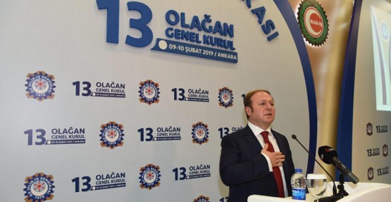 Özİplik-İŞ Sendikası Genel Başkanlığına Rafi Ay Seçildi!