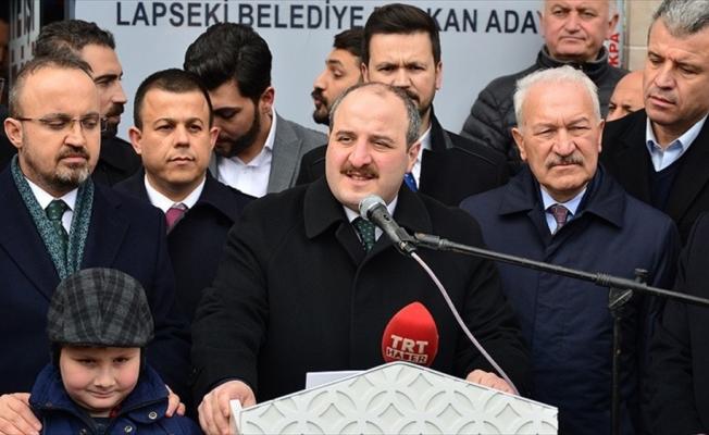 Sanayi ve Teknoloji Bakanı Varank: 31 Mart yerel seçimleri sadece bir belediye seçimi değildir