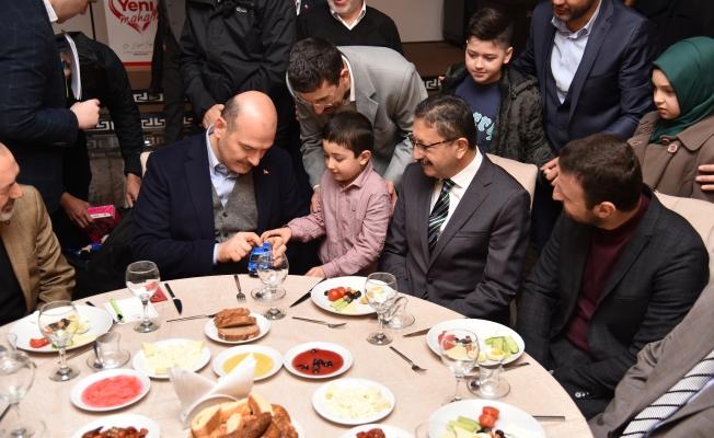 Süleyman Soylu'dan Veysel Tiryaki'ye Tam Destek