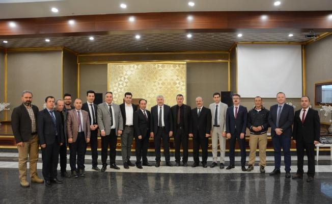 Akyurt Belediye Başkanı Gültekin Ayantaş Belediye Personeline veda etti.