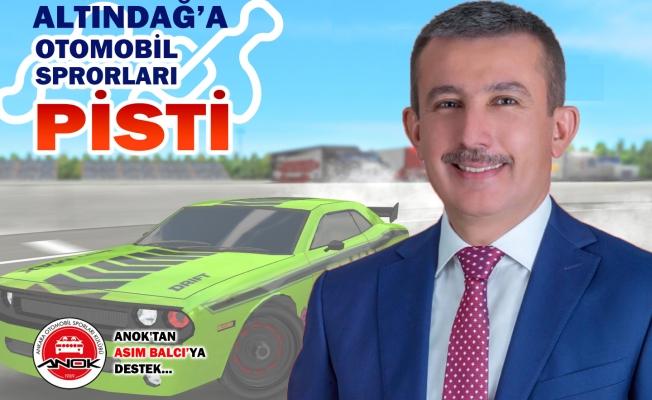 ALTINDAĞ'A DRİFT PİSTİ