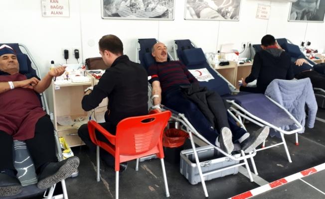 Beypazarı'nda 475 ünite kan toplandı
