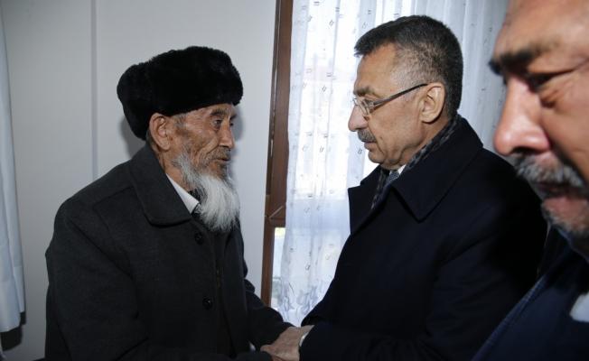 Cumhurbaşkanı Yardımcısı Oktay, taziye ziyaretinde bulundu