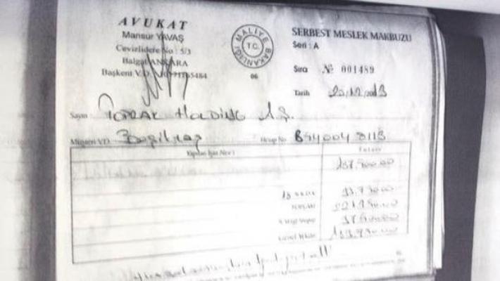 Mansur Yavaş Halis Toprak'tan da belgesiz 187 bin lira aldı