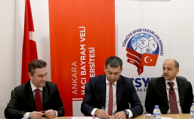 TSYD Ankara Şubesi ile HBV Üniversitesi arasında iş birliği