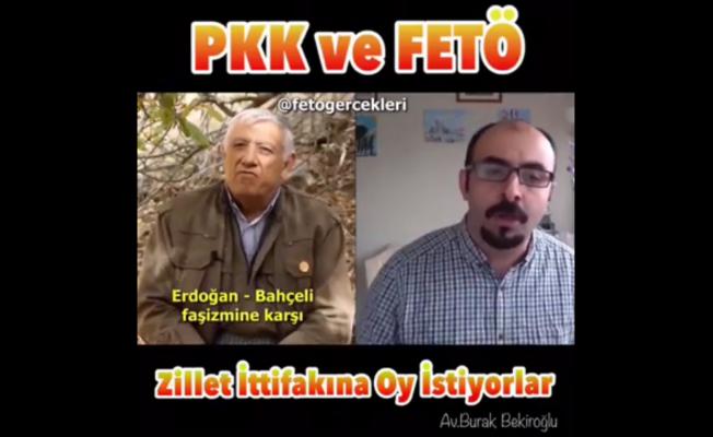Video Haber: PKK elebaşısı ve FETÖ Tetikçisi Oy İstiyor Hemde bakın Kime?