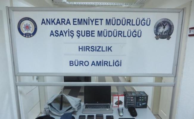 Ankara'da elektronik eşya hırsızlarına operasyon
