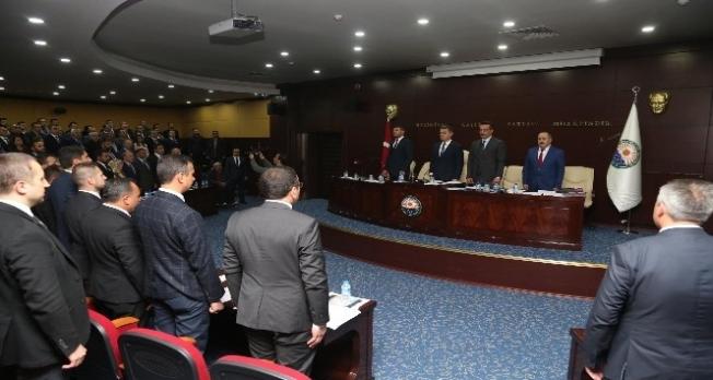 Gölbaşı'nda ilk meclis toplantısı yapıldı