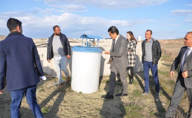 Gülşehir Belediye Başkanı Çiftçi çalışma alanlarını inceledi